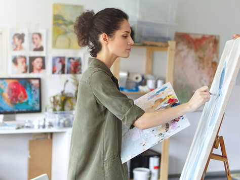 Art is a natural way to practice mindfulness.