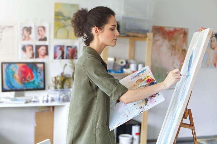 Jeune peintre