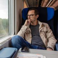 Aktives AtemCoaching beim Zug fahren