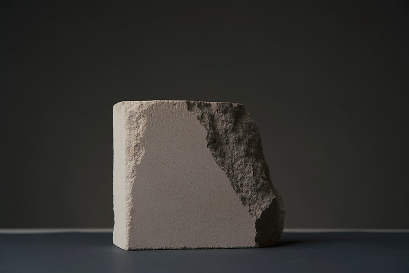 Bruten betong
