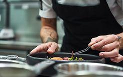 Final Dish Arrangements
