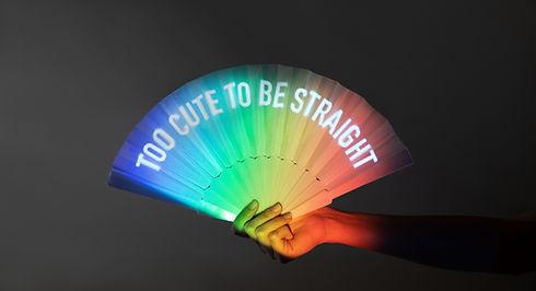 Pride Paper Fan