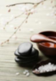 Spa zouten en stenen