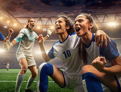 Kvinnliga fotbollsspelare