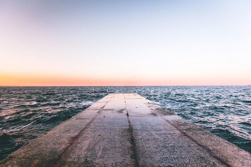 Muelle del océano