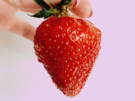 What is Strawberry or Bumpy Skin?