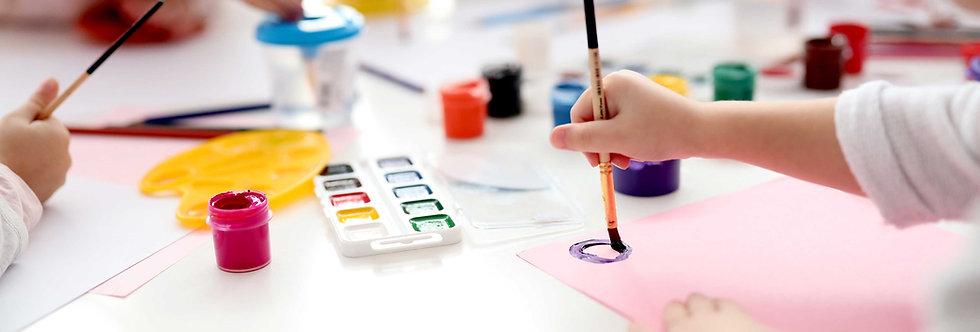 Modern Oil Painting Classes 1:30-2:40 P.M. ( Nov & Dec)