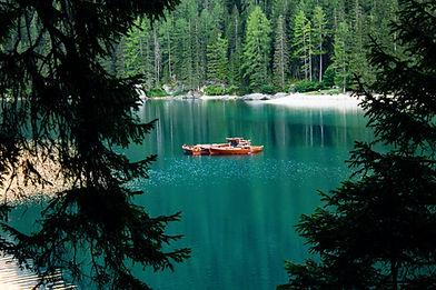 Lago nel verde