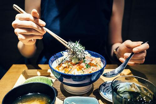 Wakame and Rice
