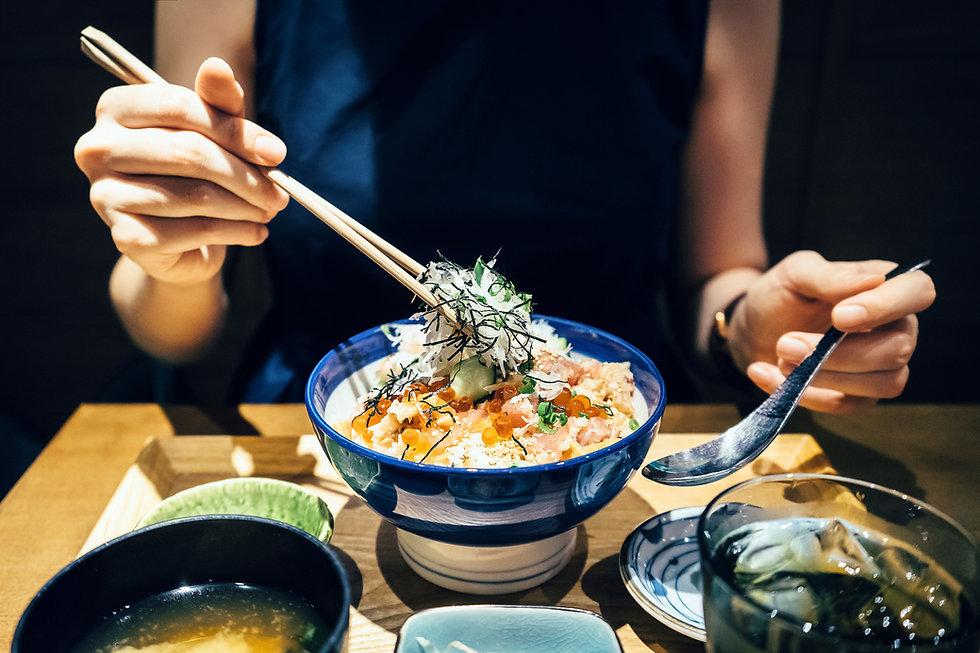 Wakame et riz