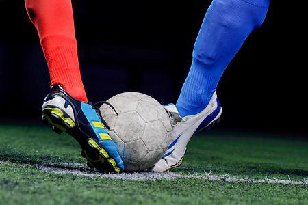 Voetbalwedstrijd