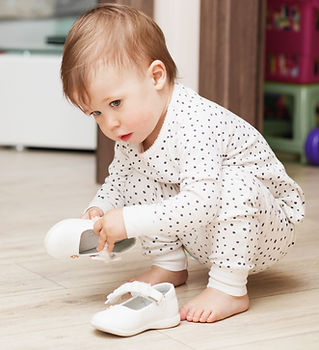 Baby With Shoes