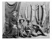 Antique Photograph of Fishermen