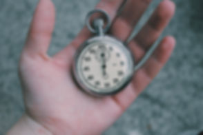Pocket Watch in Hand