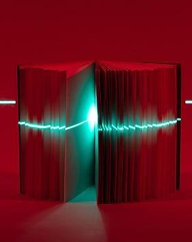 Livro de digitalização a laser