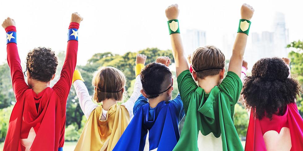 Virtual Spirit Day: Superhero Day