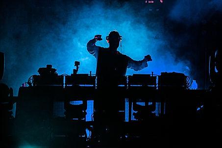 DJ na planie