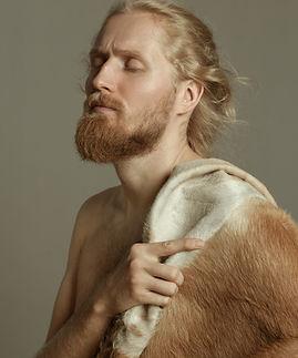 Man with Fur
