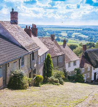 Tradycyjna angielska wioska