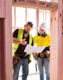 Travailleurs en chantier