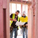 Werknemers in de bouwplaats