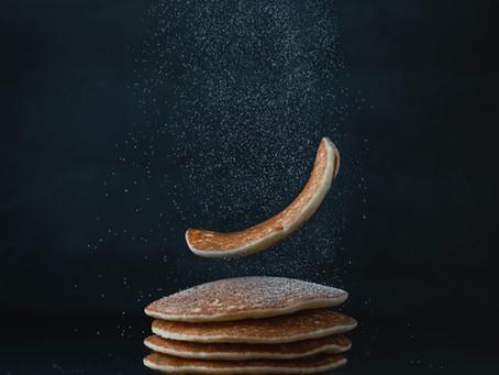 Panquecas de grão de bico ou Chana dosa