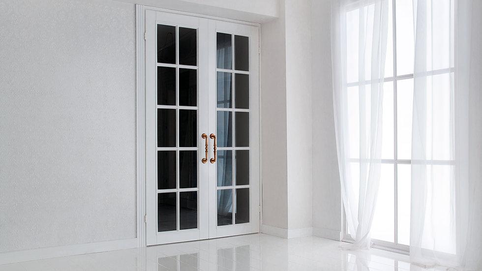 Алюминиевые дверные конструкции