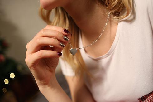 Pendentif coeur femme Hastrey Paris, Bijoux pas cher