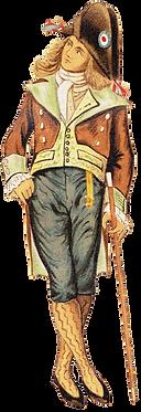 Hombre medieval francés