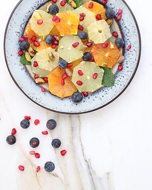 과일 그릇