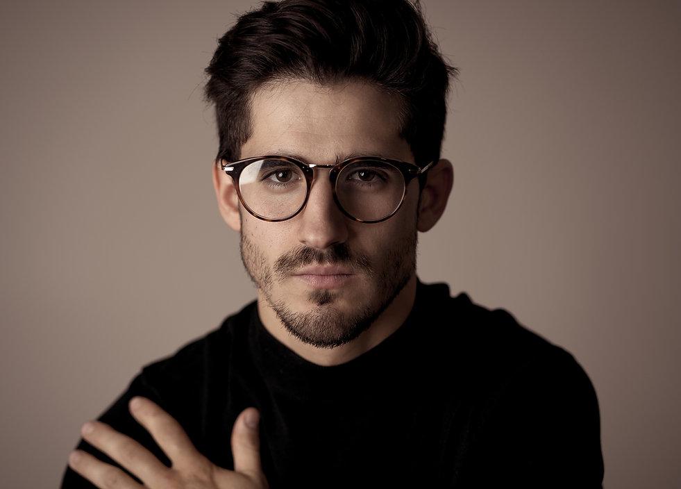 Mens round eye glasses