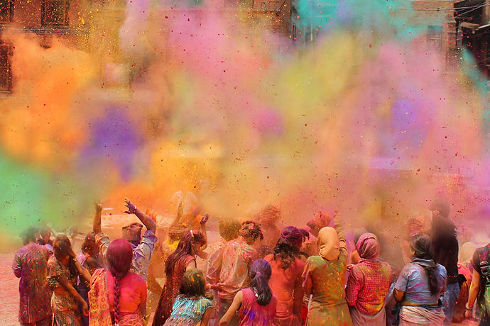 Holi Events in Bangalore 1