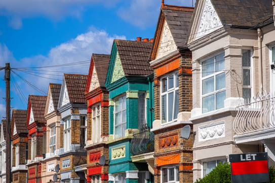 Colourful Terraced Houses