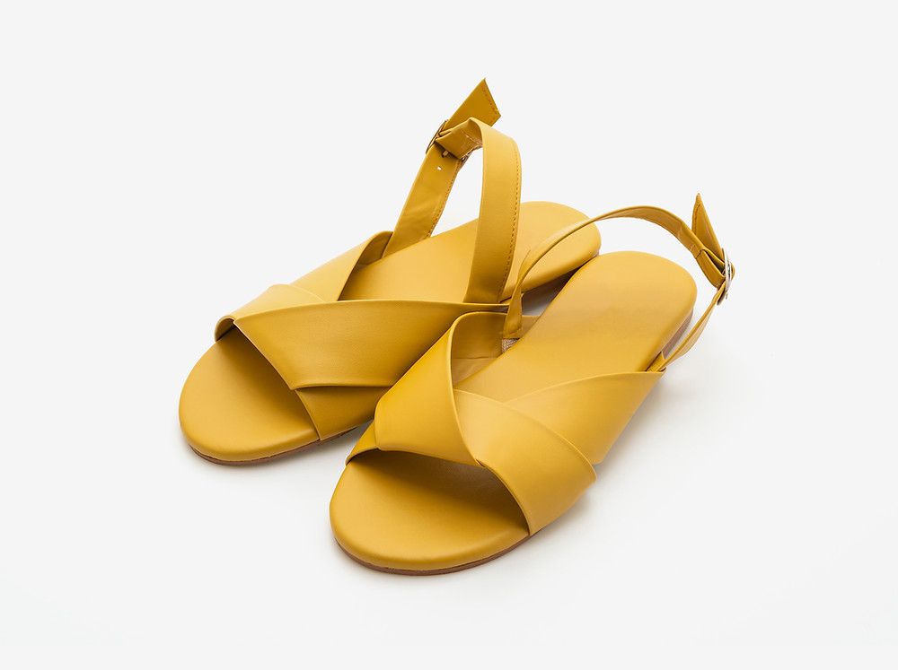open toed sandals business casual
