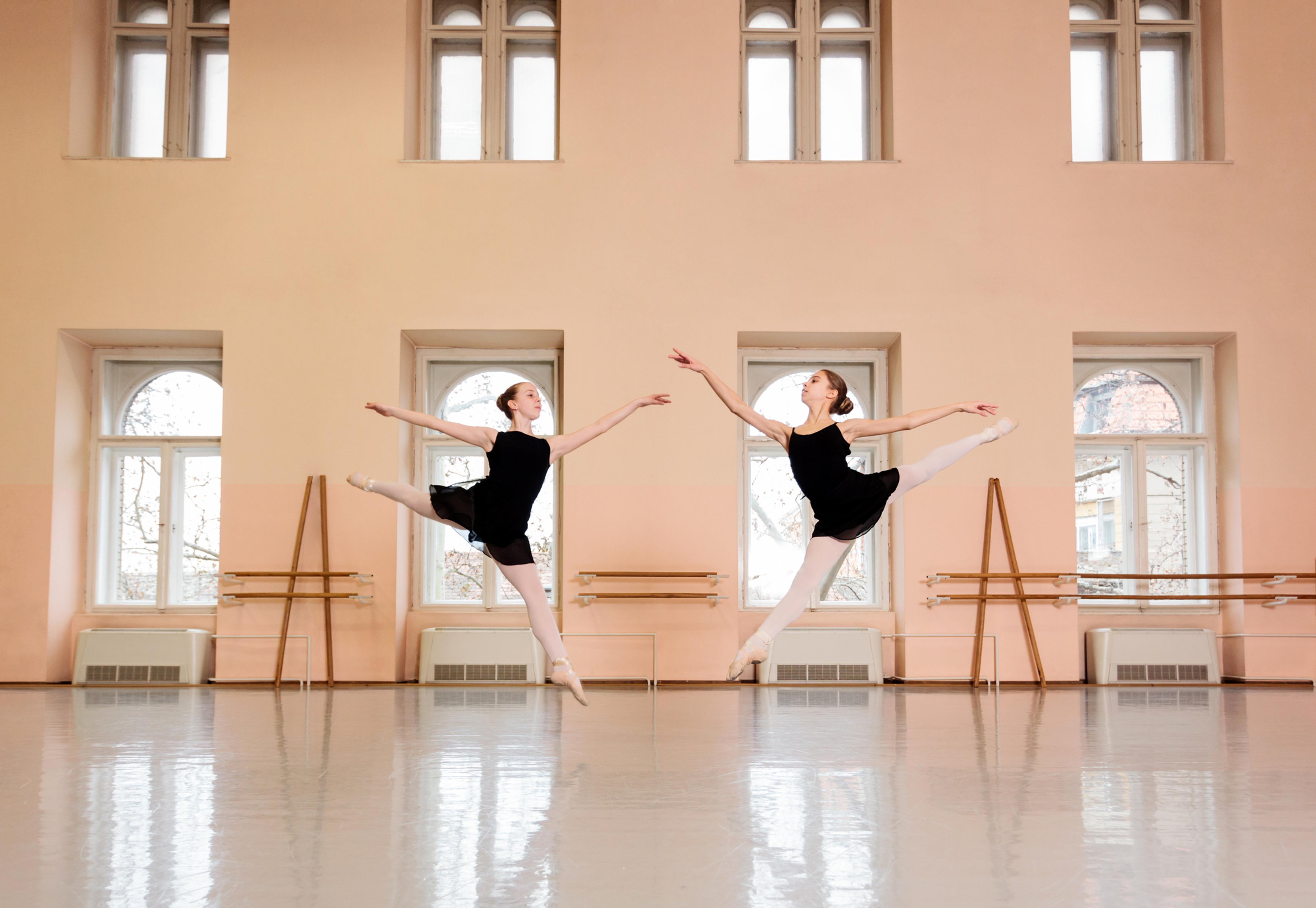 中高生の為のバレエトレーニング+バレエ基礎