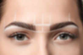 Groene ogen en make-up