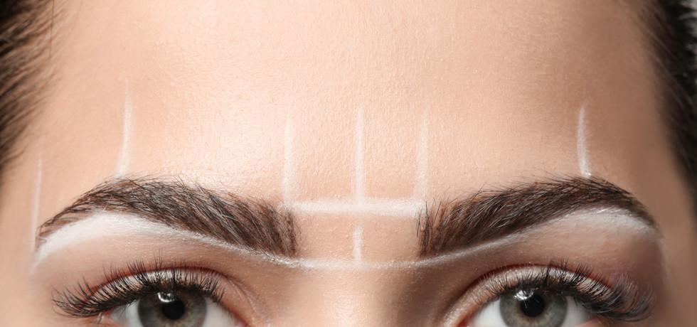 Grüne Augen und Make-up