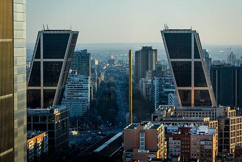 Distrito financiero español