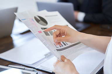 Finger Pointing To Graph Documents