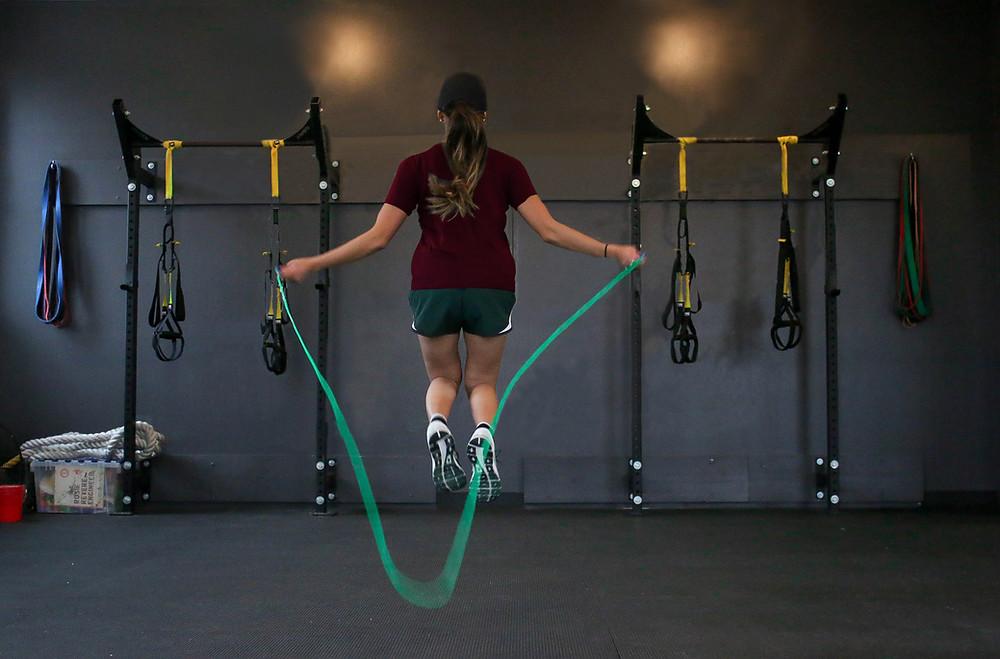 la corde à sauter... à limiter