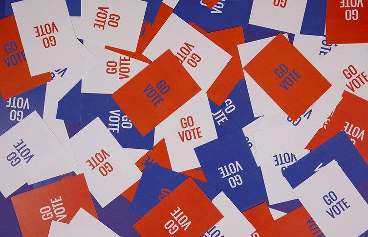 Go Vote Flyers