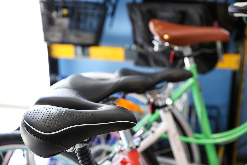 asiento de la bicicleta