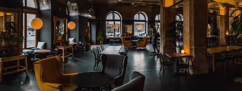 Interieur van restaurant