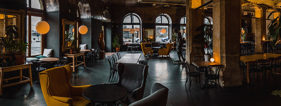 Interiør av Restaurant