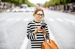 Mujer en la calle