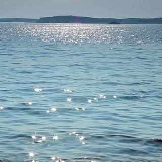 Solljus på havet