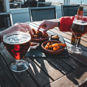 beer-and-snacks