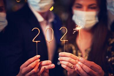 Happy New Year Fire Mesa