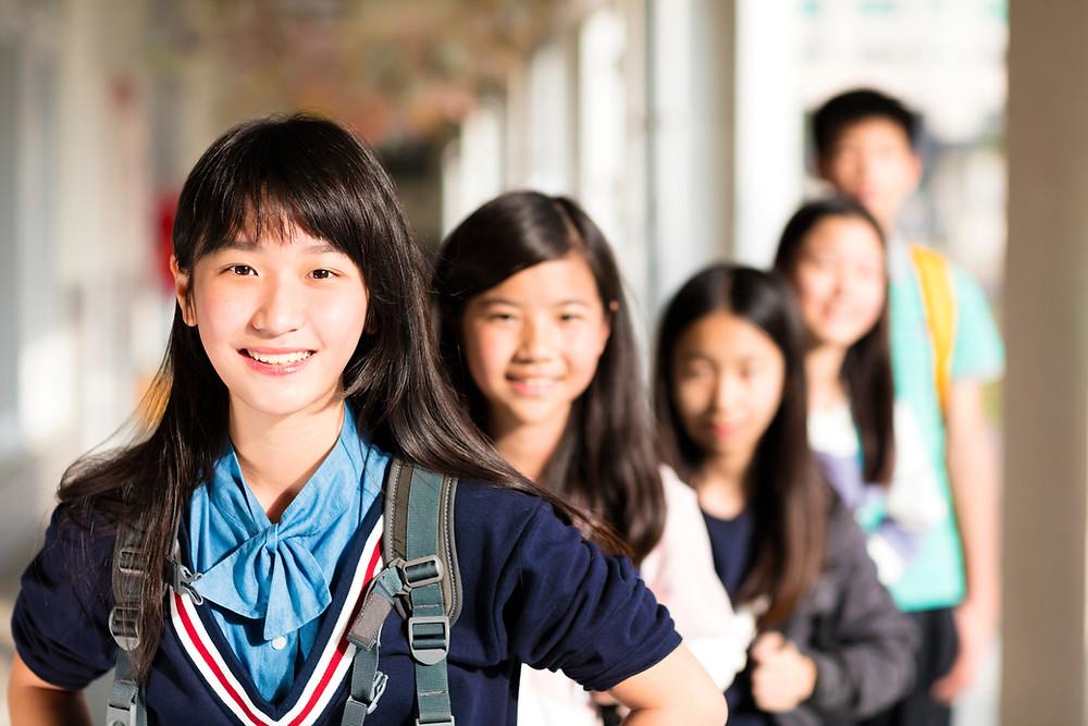 happy students, academic achievement