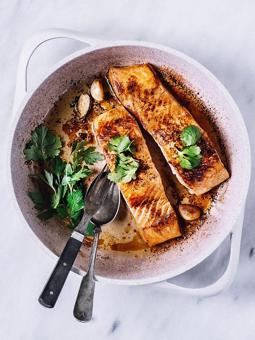 """Sensible"" Garlic-Dijon Salmon"